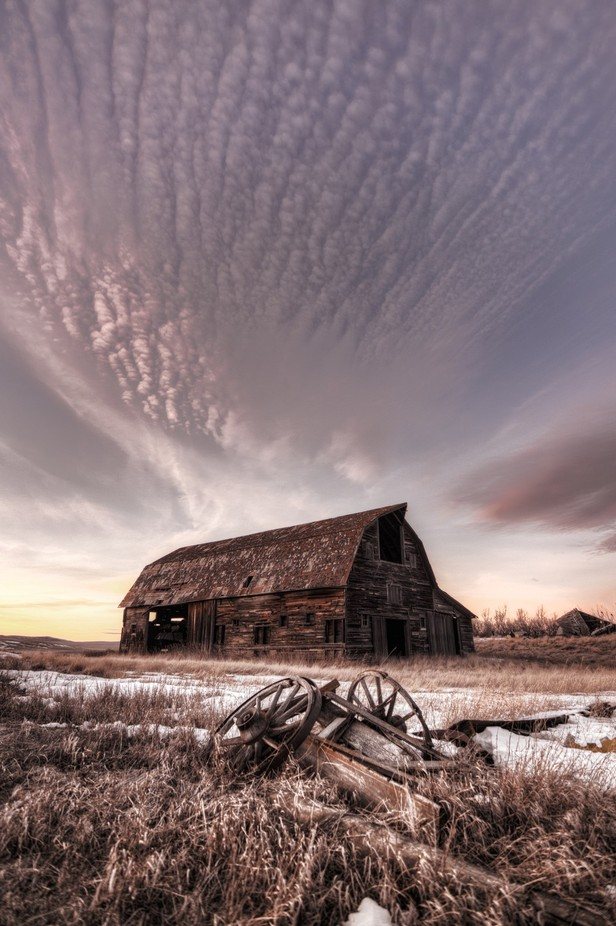 Grand Barn  by megansimmons - Farms And Barns Photo Contest