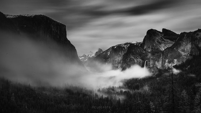 The Spirit of Ansel by elecfoto - Black And White Landscapes Photo Contest