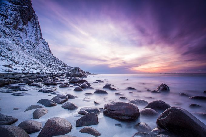 Sunset Rocks by Mbeiter - Rule Of Thirds In Nature Photo Contest