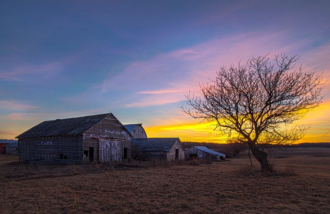 shedsunset2 by JMHmy87 - Farms And Barns Photo Contest