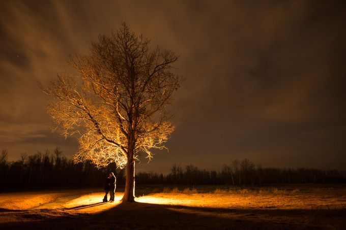 Lovers Stroll by mposein - Artificial Light Photo Contest 2017