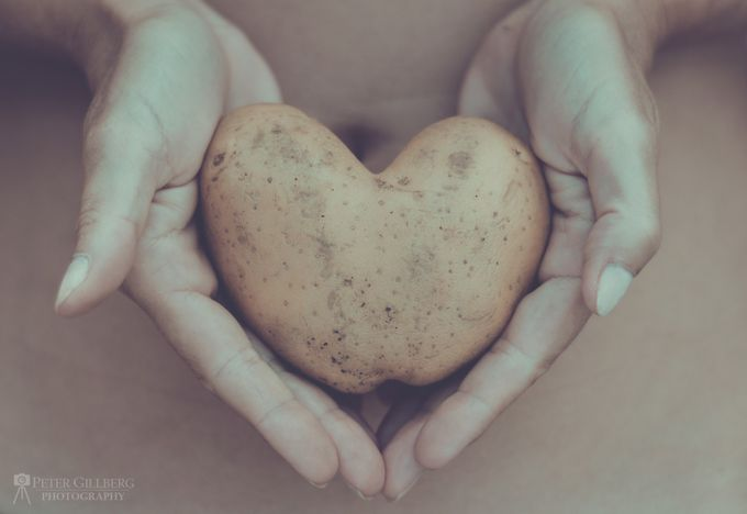I Heart Potato by petergillberg - Shooting Hands Photo Contest