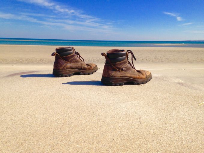 Boots on the ground by Jodosphotos - Cool Shoes Photo Contest
