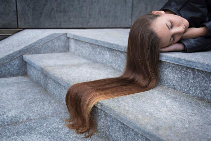Long Hair  by beatricecorona - Long Hair Photo Contest