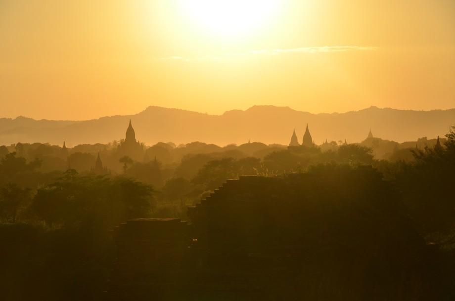 Taken at Bagan, Myanmar.
