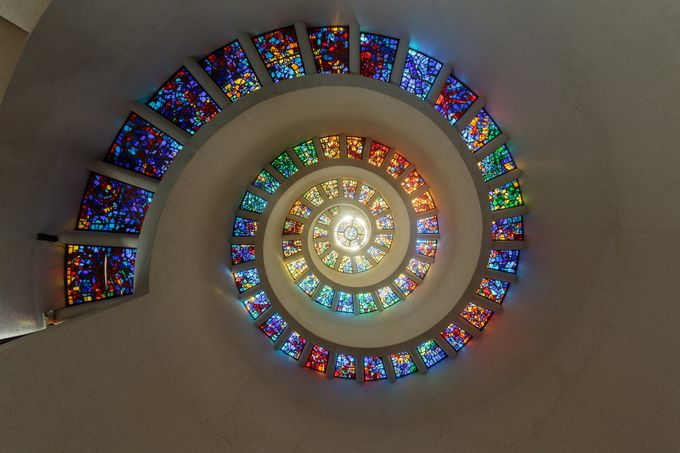 Glory Window Dallas by ericcriswell - Spirals And Composition Photo Contest