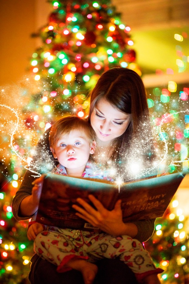 Magical Christmas Book by G5IMAGES - Holiday Lights Photo Contest 2017