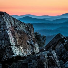 I woke up early and hiked to the top of Blackrock Summit in Shenandoah National Park, Virginia.  The summit is a pile of Limestone boulders which...