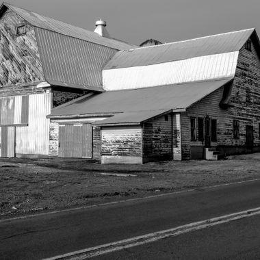Old Barn in Plattsburgh NY