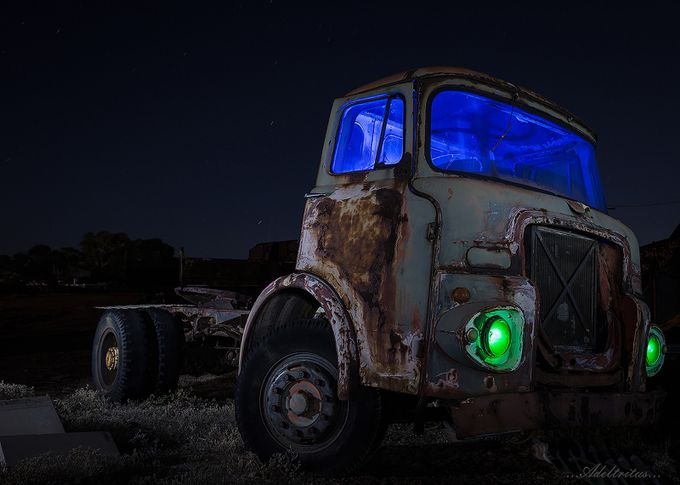 Transportation blues... by jaytee - Trucks Photo Contest