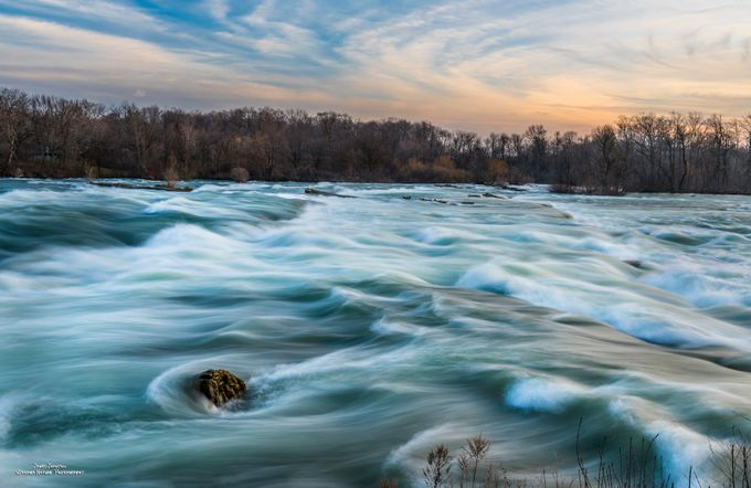 Rapids Above The Falls by jamesjohnston_3471 - Composing with Patterns Photo Contest