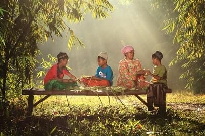 Beautiful Morning Scene at Serpong Village