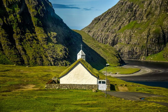 Church in the Faroe Islands by FordsFotos - Faith Photo Contest with Scott Jarvie