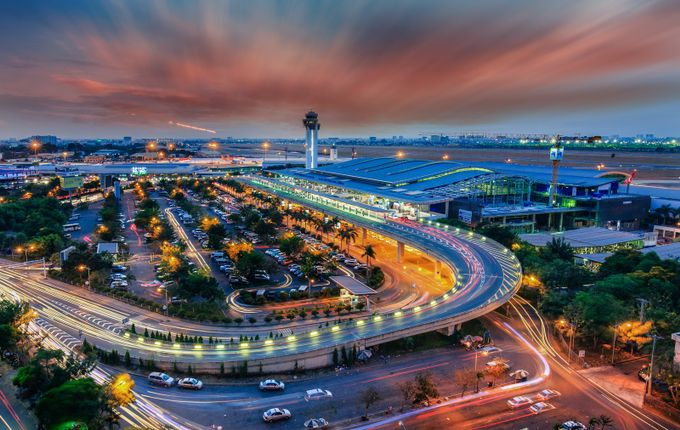 Tan Son Nhat Airport  by tunnguyn - Public Transport Hubs Photo Contest