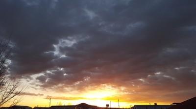 Yucca bath at Sunrise