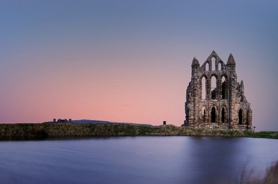 Whitby Castle  Water  taken by Bob Riach
