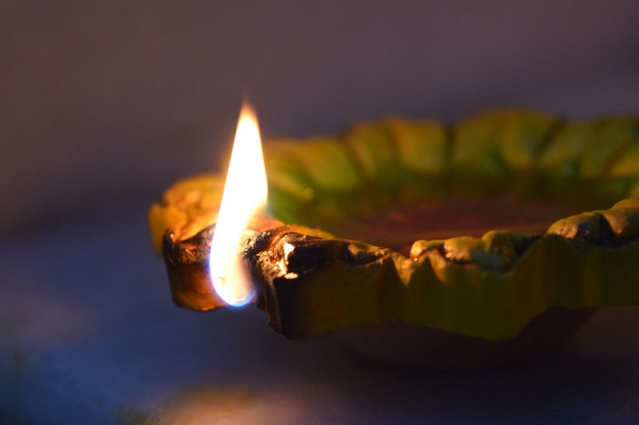 A click from the festival of lights- Diwali celebrated in India