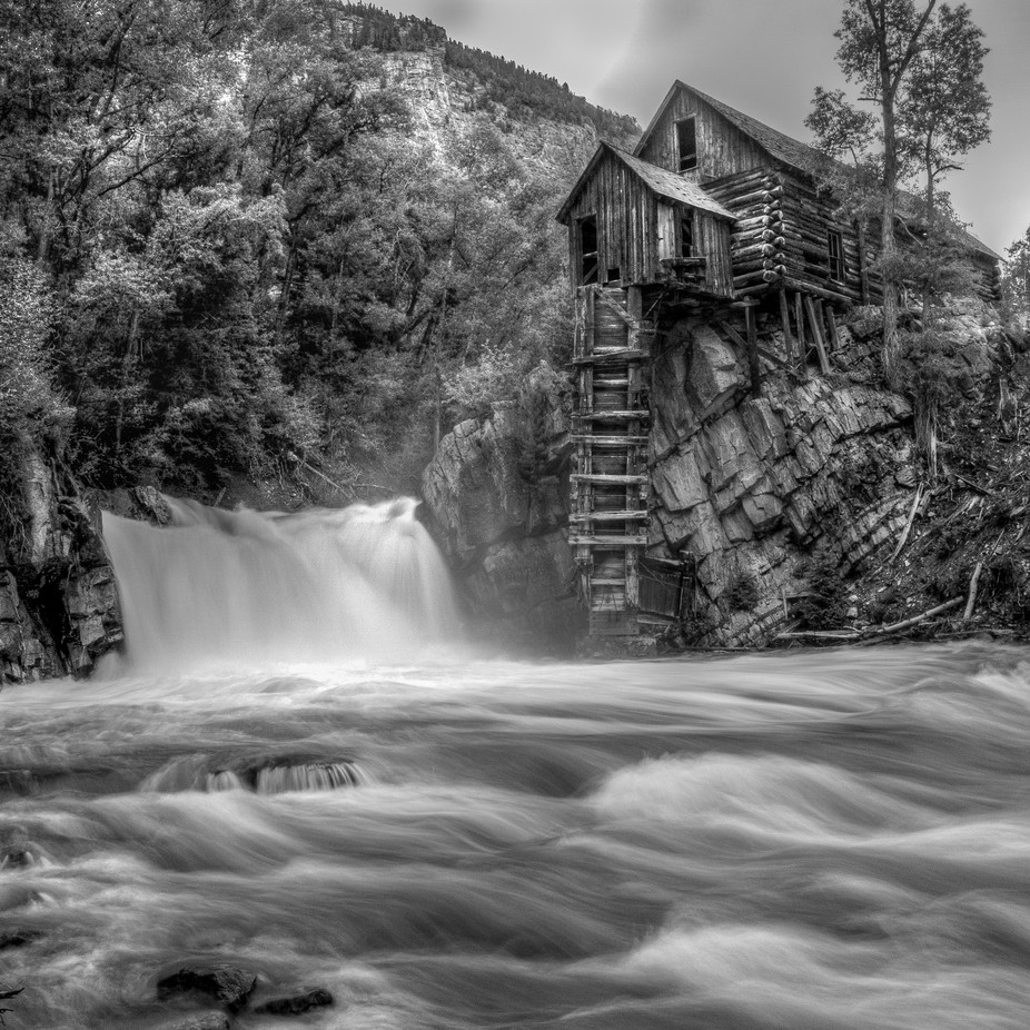 Mill Over Troubled Water by TomHeywood - A Black And White World Photo Contest