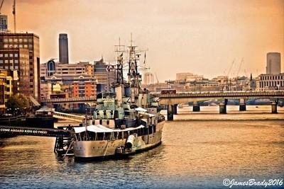 HMS Belfast HDR