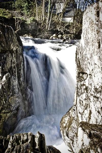 Betws-y-coed , waterfall