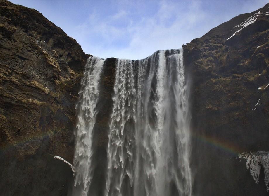 2016 March Iceland trip, Skogafoss waterfall