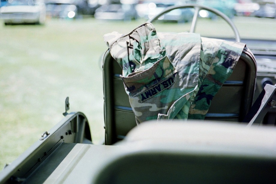 A war vet brought a lot of his war memorabilia to a local car show and I had the privilege to tak...