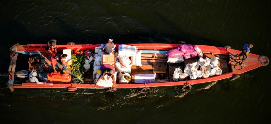 Bunaken Traditional Transportation