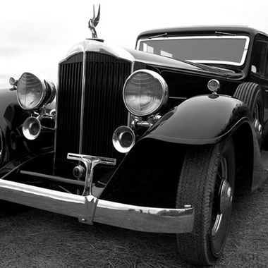"Nothing more gorgeous than the old Packards of the 20's. This ""Black Beauty"" is one of the best examples of the ""American Rolls Royce""."