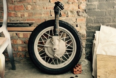 Lonely wheel