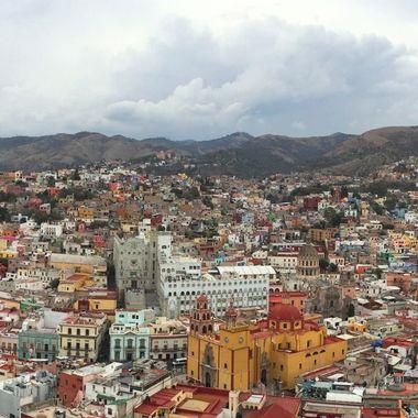 Guanajuato City Panorama, Mexico #2