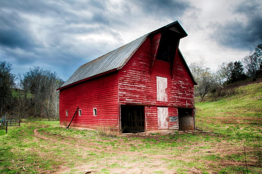 Just off the Blue Ridge Parkway in Virginia.  Noticed this beautiful old barn with the incredible detail just waiting to be captured on film.