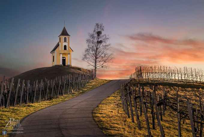 Up on the hill by saintek - Country Roads Photo Contest