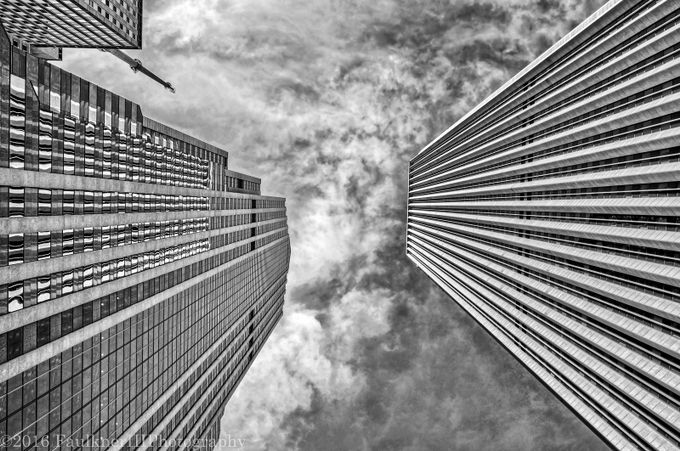 AON-Prudential b/w by fred_fiii - Parallel Compositions Photo Contest