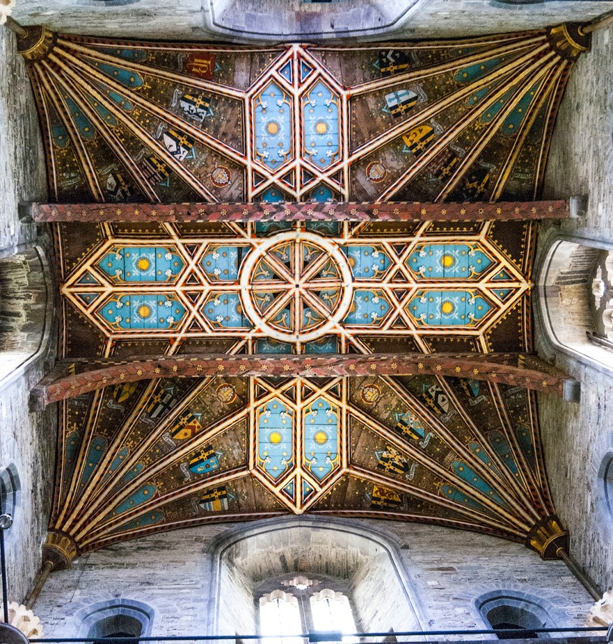 St Davids cathedral ceiling by peteslee - Ceilings Photo Contest