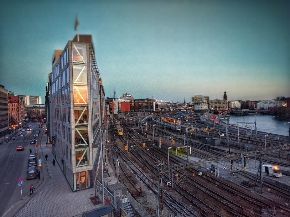 View towards T-Centralen