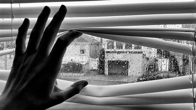 Rear Window by kaytabs - Shooting Hands Photo Contest