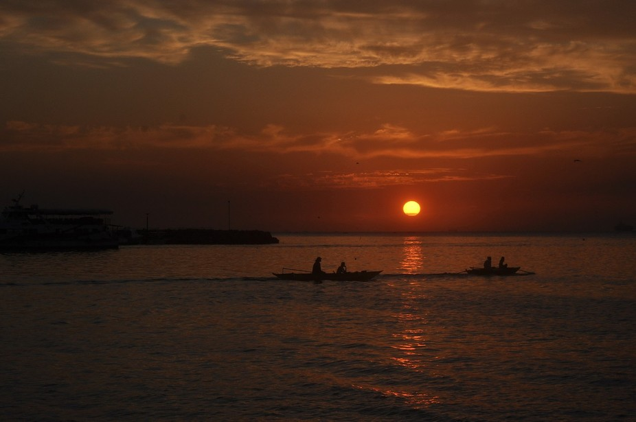 DSC_4793 Sunset of Manila Bay.