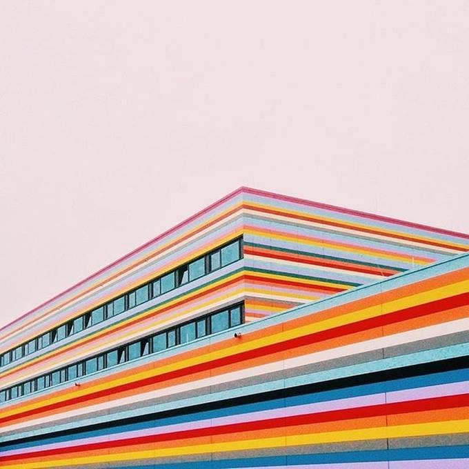 colored architecture by evmuraveva