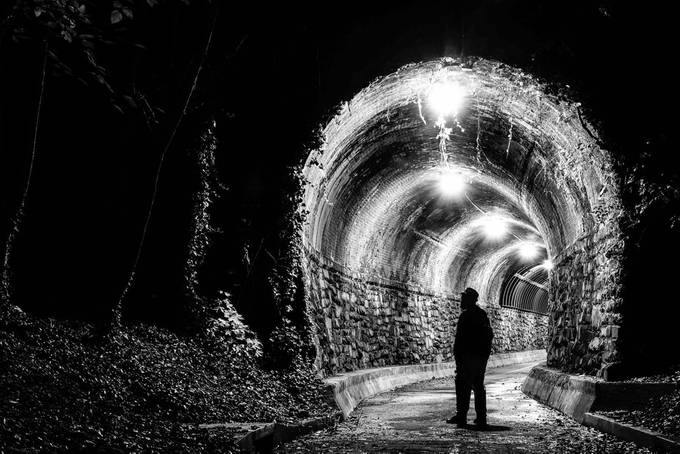 Tunnel by 1WolfPhotography - Mysterious Shots Photo Contest