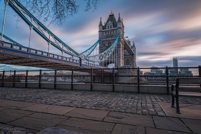 Sunset at Tower Bridge