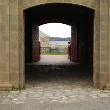 Fortress of Louisbourg - Cape Breton Island Oct 2010