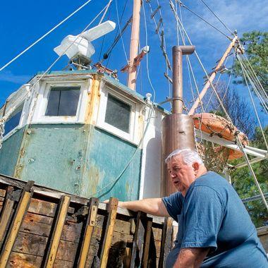 RS Meekin on Boat