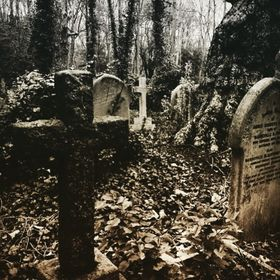 A picture of the impressive and fantastic Highgate cemetery in London