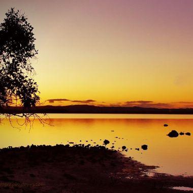 Silhouettes at Dawn