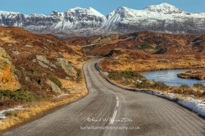 The Road to Quinag