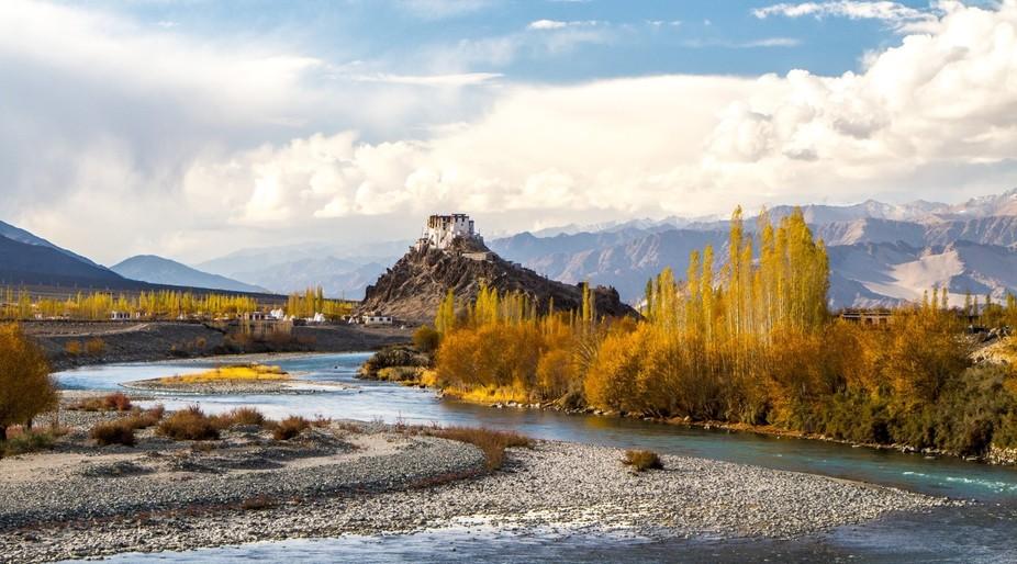 Stakna Monastery in Western-Tibet (Ladakh)