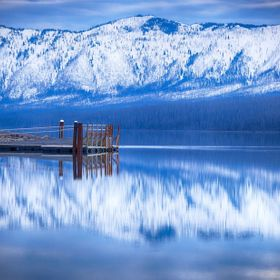 Dock In Lake McDonald