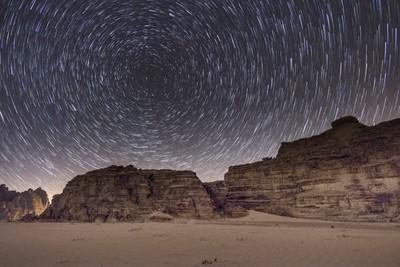 Wadi Rum Star Trail
