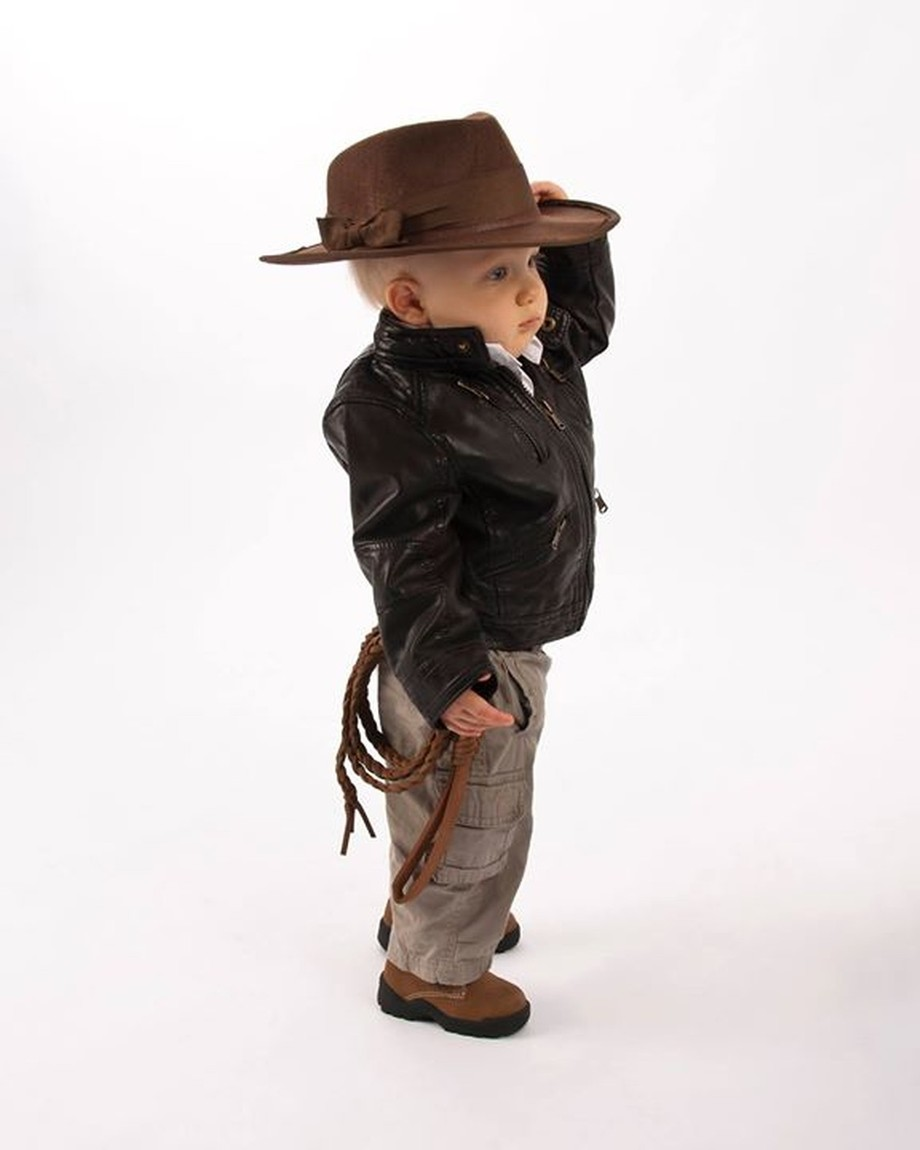 Lil' Indiana Jones ready for adventure!
