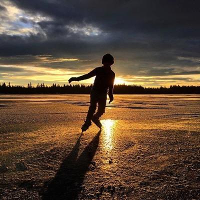 Skating the days away